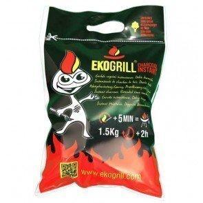 Carbón para barbacoa Ekogrill