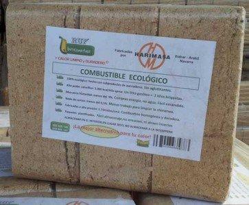 Paquete de briquetas RUF de 12 kg