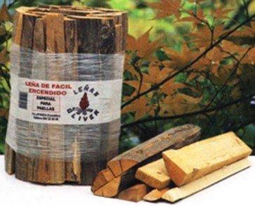 Paquete de leña de facil encendido