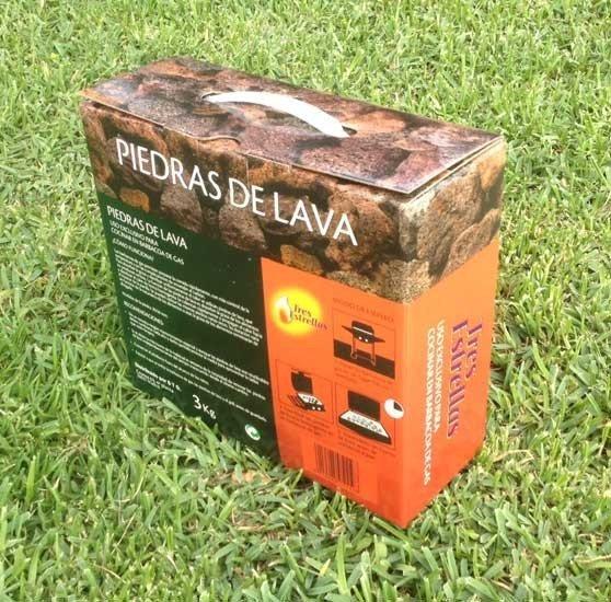 Piedras de lava para barbacoa de gas tienda biomasa - Barbacoa de gas ...