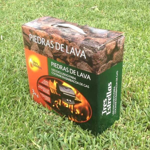 Piedras de lava para barbacoa de gas tienda biomasa - Piedra para barbacoa ...