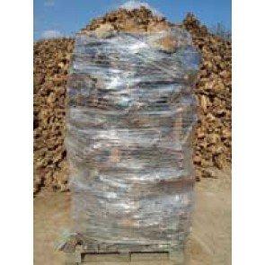 Madera de olivo para chimenea paletizada (2 m3)