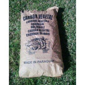 Saco de carbón vegetal