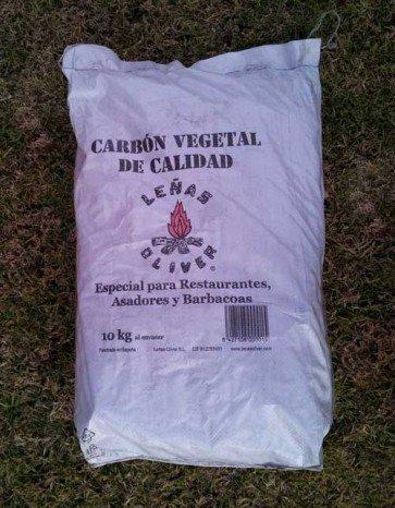 Carbón vegetal de Encina de España