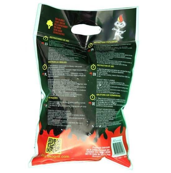 43d5f29cc Ekogrill carbón vegetal instantáneo - Tienda Biomasa